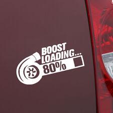 Hot TURBO BOOST LOADING Car Gift Window Wall Sticker Laptop Glass Door Decor