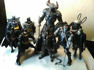 DC Multiverse Justice League Movie BATMAN Tactical Suit STEPPENWOLF BAF LOBO +++