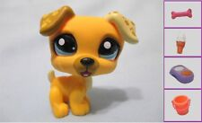 Littlest Pet Shop Yellow JACK RUSSELL Dog #1496 +1 FREE Access 100% Authentic