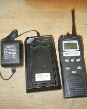 Macom Harris P7100 Ip Portable 2 Way Radio Model Maht S83nx Amp Charger 800 Mhz