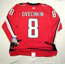 ALEXANDER OVECHKIN size 50 = Medium Washington Capitals ADIDAS NHL Hockey Jersey