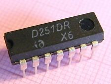 25x D251D dual 2-wide 2-input/ 3-input AND-OR-INVERT gate =74H51, HFO