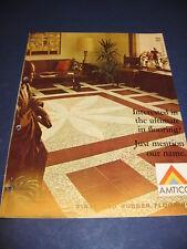AMTICO Flooring Tile 1965 Catalog Asbestos American Biltrite Rubber Co Inc