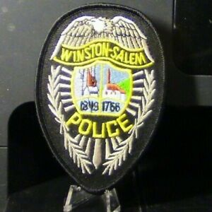 Patch Retired: Winston-Salem, North Carolina Police Badge Patch