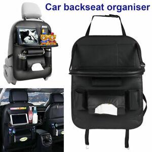 Car Organiser Car Backseat Organiser Car Tidy Organiser with 9 Pockets Black