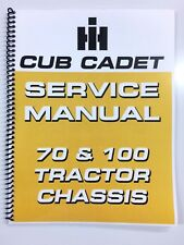 International Harvester Cub Cadet 100 Tractor Chassis Service Manual Repair