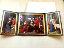 Très GRANDE CARTE + enveloppe HANS MEMLING 1479 BRUGGE Memling Museum