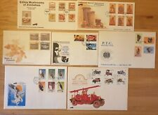 1983 to 1992 ZIMBABWE - 7 x First Day Covers with Information Cards JOB LOT
