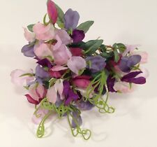 Longaberger Miniature SWEET PEA Mini FLORAL INSERT ~ Flowers for May Basket