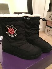 NEW $69.99 madden girl size 6.5 boots faux Fur black shoes winter b99