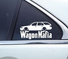 Lowered WAGON MAFIA sticker - for Honda Accord CB9 wagon (1990-1993)