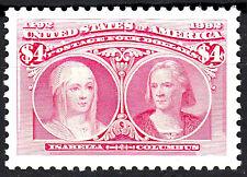 USA postfrisch MNH 4 Dollar Kolumbus Italien Seefahrer Entdecker Jahr 1992 / 378