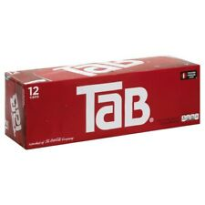 12-pack of Tab Cola Soda Pop 12oz Cans, New, Unopened, Discontinued