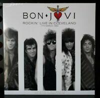 LP  Bon Jovi – Rockin' Live In Cleveland -  CL76317 Neuf sous Blister ! (2018)