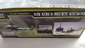 BLADE SR UN-1 HUEY GUNSHIP R/C HELICOPTER AND SPARES