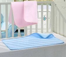 Bamboo Waterproof Super Soft Mattress Crib Cot Moses Basket Baby Protector