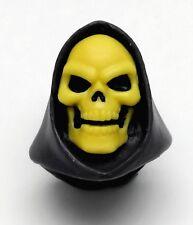 PRE-ORDER MOTU Classics Custom FILMATION SKELETOR BLACK LEO PAINTED HEAD Masters