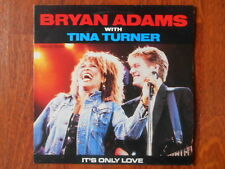 BRYAN ADAMS & TINA TURNER  / MAXI 45T /  IT'S ONLY LOVE