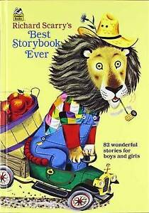Richard Scarry's Best Story Book Ever Vintage Wonderful Stories 1968 Golden book