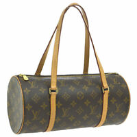 LOUIS VUITTON PAPILLON 30 HAND BAG MONOGRAM CANVAS M51385 SP1024 PURSE AK38265h