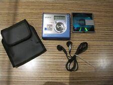 Sony MD USB Walkman NH700 HI / Player / Recorder Minidisc  (968) + Sony Ohrhörer