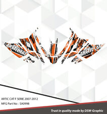 SLED GRAPHIC KIT DECAL WRAP FOR ARCTIC CAT Z1 F8 F6 F5 F SERIES 07-2012 SA0998