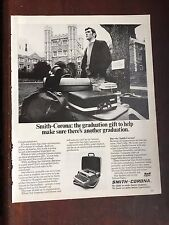 1972 Smith Corona Typewriter Print Ad Advertisement 21202 Vintage