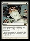 MTG Silence x 1 EX/NM M11 Magic Plains Rare