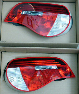 BMW E85 E86 Z4 Roadster or Coupe 2006-2008 Genuine Taillight Pair OEM NEW