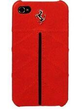 Ferrari Leather Back Cover Case for iPhone 5/5s/SE - FECFIP5R