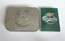 Malaysia Playing Cards Carlsberg Beer Melody Tin Pack Sealed Mint Tune 2001