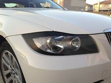 06-08 BMW E90 3 SERIES CARBON FIBER EYELID 325i 328i 330i 335i M3