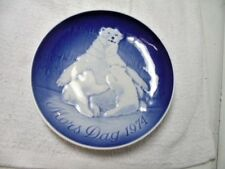 B & G Copenhagen Porcelain Limited Edition Mother's Day 1974 Plate