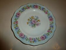 Foley England Bone China Plate, Cornflower