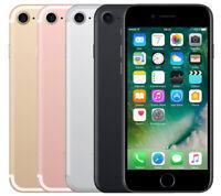Apple iPhone7 32/128/256GB Argento Nero Oro Rosa Oro(Sbloccato) Smartphone