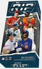 2020 Topps Rip Sealed Pack Hobby Box *In Hand* Fast Free Shipping 4 Cards/Box