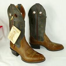 Sanders Western Boots  Antelope   Mens size 9D 9 D  #8809