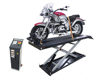 MOTORBIKE/ATV/QUAD BIKE LIFT 600kg WITH JACK Fully Electronic by Hero Hoists Qld