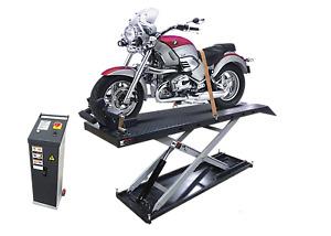 MOTORBIKE/ATV/QUAD BIKE LIFT 600kg WITH JACK Fully Electronic by Hero Hoists Qld