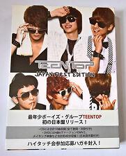 TEEN TOP Japan First Edition Limited Japan Press CD + DVD + Photobook K-POP