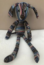 Jellycat Troubadour Puppy Dog Striped Soft Baby Comforter Soother Toy Teddy
