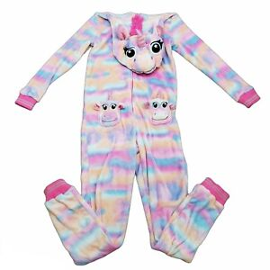 Juniors Secret Treasures Sleepwear Rainbow Unicorn Pajamas Size S/CH