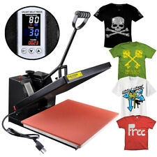 "16""x20"" LCD Timer Temp Heat Press Machine Digital T-shirt Sublimation Transfer"