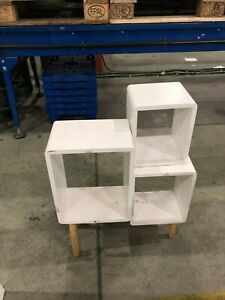 SMALL DISPLAY UNIT Sectioned Cube Style Upcycling Project Bedroom Furniture