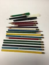 Vintage Drafting  Pencil LOT  COLORED EAGLE FABER LL4