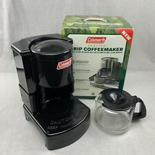 Coleman Camping Coffee Maker 10 Cup Drip Pot Hunting Hiking Portable Stove Top