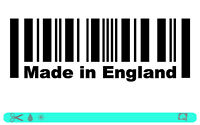 MADE IN ENGLAND Sticker bombed bomb mini style OEM DUB Aufkleber