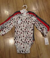Carter's Baby Boy One piece Size 9M Brand New With Tags Set Of 4 $26