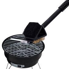 Edelstahl Grillreinigungsbürste Grillbürste 3 in 1 Grillschaber BBQ Grill brush