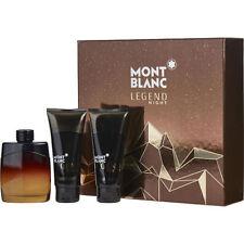 Mont Blanc Legend Night Eau de Parfum Spray 3.3 oz & Aftershave Balm 3.3 oz & Al
